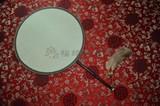 商品名称:精品宫扇 紫竹 真丝 双面 圆柄 团扇 宫扇(圆型)